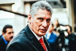 El gobernante del régimen cubano, Miguel Díaz-Canel. Archivo.
