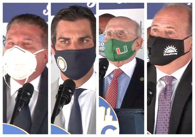 Todos contra Gimenez: Liga de alcaldes se une y arremeten contra el alcalde del condado Miami-Dade