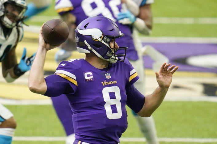 Vikings resisten al vencer 28-27 a Panthers