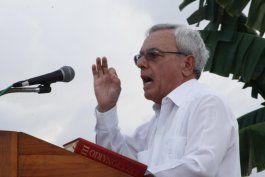 Eusebio Leal, historiador de La Habana y una de las más conocidas figuras del régimen.