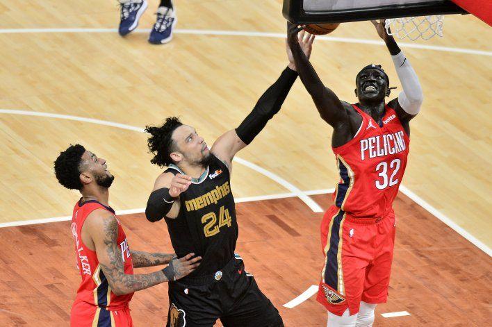 Grizzlies vencen a Pelicans y van a mini torneo de playoffs