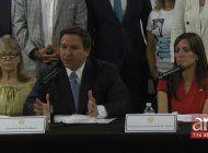 gobernador desantis y lideres locales buscan soluciones para cuba