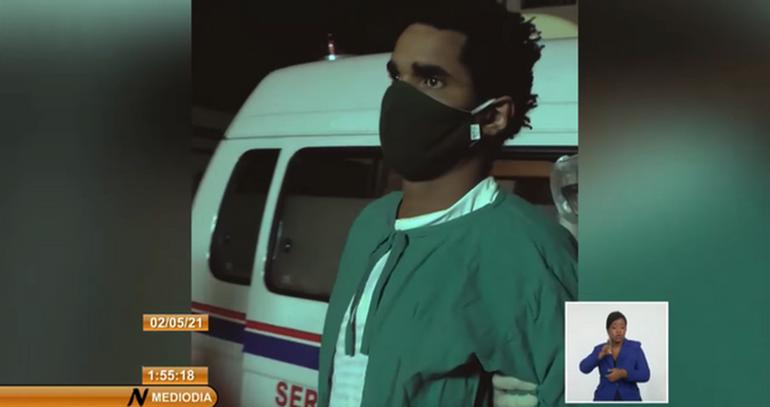 Con Coronavirus y Aislado: así estaría en prisión en Cuba Luis Manuel Otero Alcántara