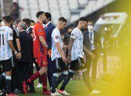 brasil-argentina suspendido en san paulo