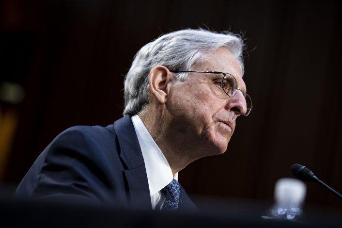 Garland promete que ataque al Capitolio será una prioridad