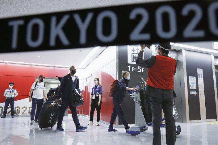 Juegos olímpicos sin ambiente, casi surrealistas