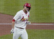 flaherty logra 1er jonron; cardenales blanquean a rockies