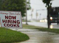 bajan las solicitudes de asistencia por desempleo en eeuu