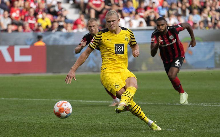 Dortmund supera 3 desventajas al vencer a Leverkusen 4-3