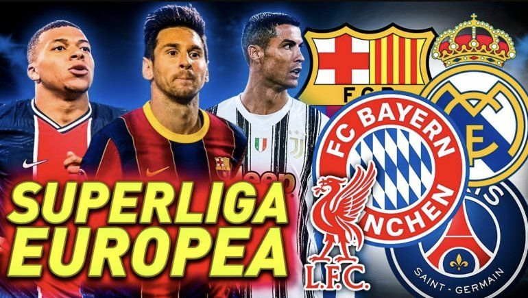 Cisma en el fútbol europeo, la élite va con su Superliga