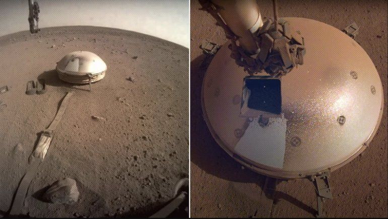 VIDEO: La sonda InSight de la NASA detecta dos fuertes terremotos en Marte