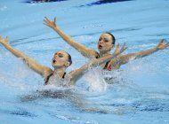 pandemia, un desafio especial para el nado sincronizado