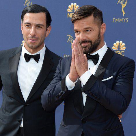 Ovacionan a Ricky Martin en los Emmy