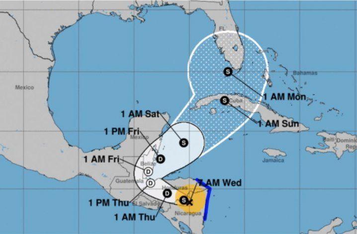 Tormenta tropical Eta: una amenaza para Cuba y Florida