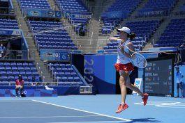 swiatek, hija de un olimpico, debuta con triunfo en tenis