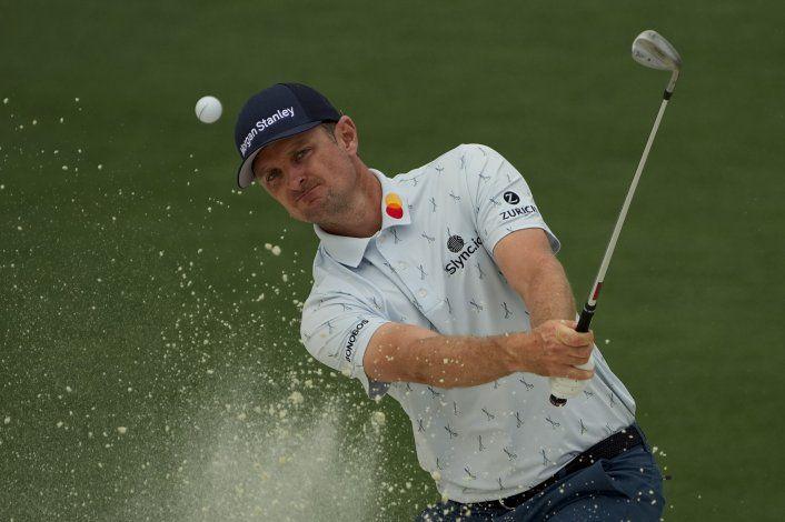 Justin Rose sorprende en difícil primera ronda del Masters