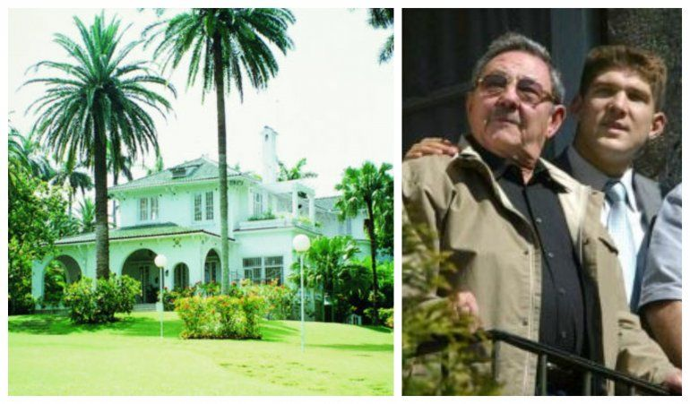 El nieto de Raúl Castro se muda a la mansión que dejó el ex embajador de España en Cuba