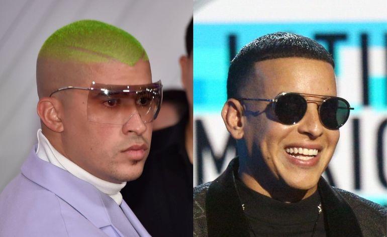 Temas de Daddy Yankee y Bad Bunny entre los 500 mejores en la historia