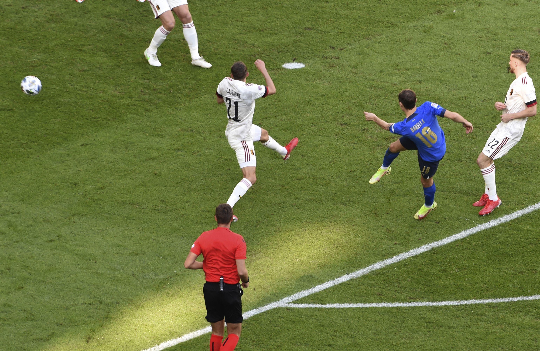Italia vence 2-1 a Bélgica por 3er lugar de Liga de Naciones