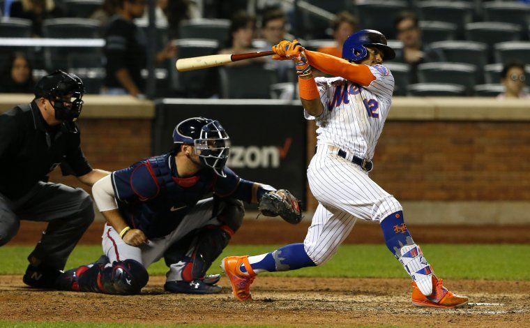 Lindor y Conforto lideran el triunfo de Mets ante Bravos 7-3