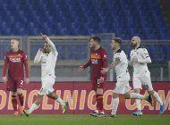 spezia vence a roma y esta en cuartos de copa italia