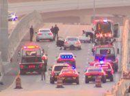 detienen a 2 hombres en un automovil robado en el dolphin expressway