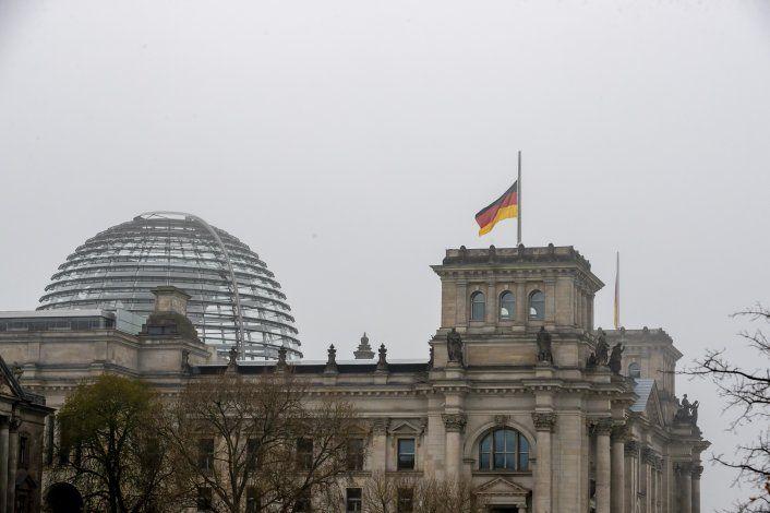 Alemania recuerda a sus casi 80.000 muertos en la pandemia