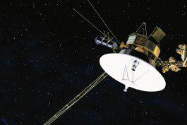 la nave espacial voyager 1 detecta zumbidos fuera del sistema solar