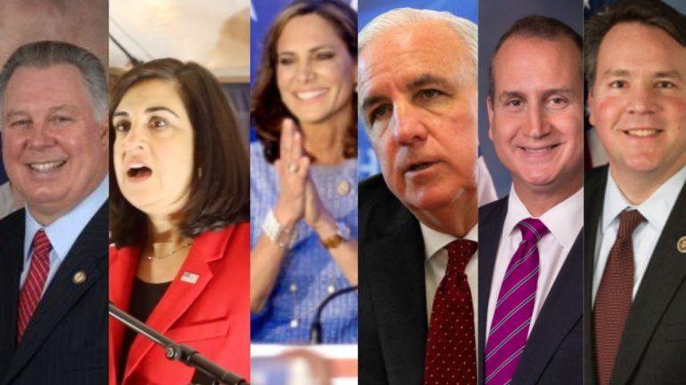 10 legisladores de origen cubano en las altas esferas de la política de EEUU