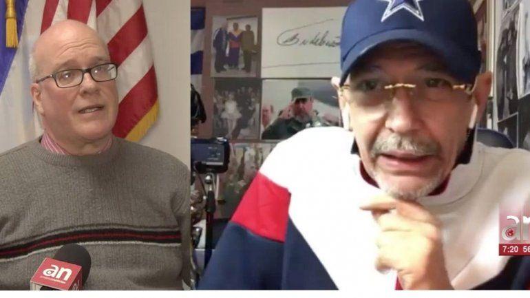 Edmundo García manda mensaje de muerte a Orlando Gutierrez líder del Directorio Democrático Cubano