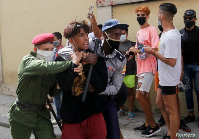 21 países emiten declaración conjunta contra la represión de la dictadura cubana