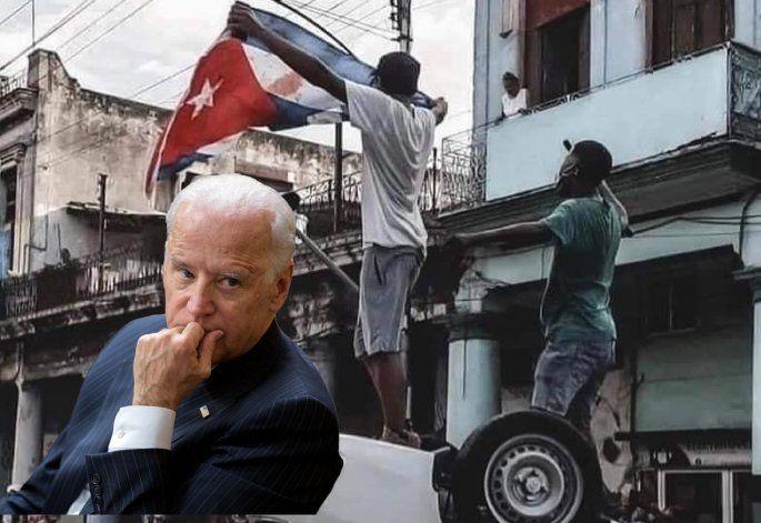 Biden señala a Cuba como un estado fallido y muestra su disposición a donar vacunas y a restaurar Internet