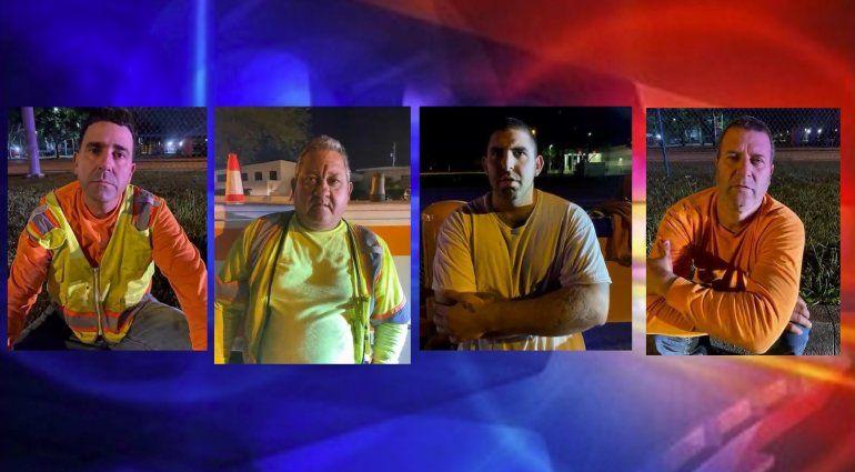 Nuevos detalles de los 5 cubanos arrestados por robo de cobre a la compañía AT&T en Homestead