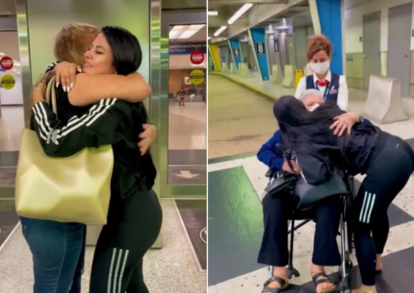La Dura protagoniza emotivo encuentro con su abuela y su mamá: Estoy muy feliz
