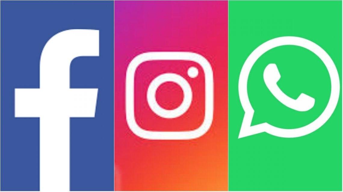 whatsapp, facebook e instagram, caidos en todo el mundo por un fallo tecnico