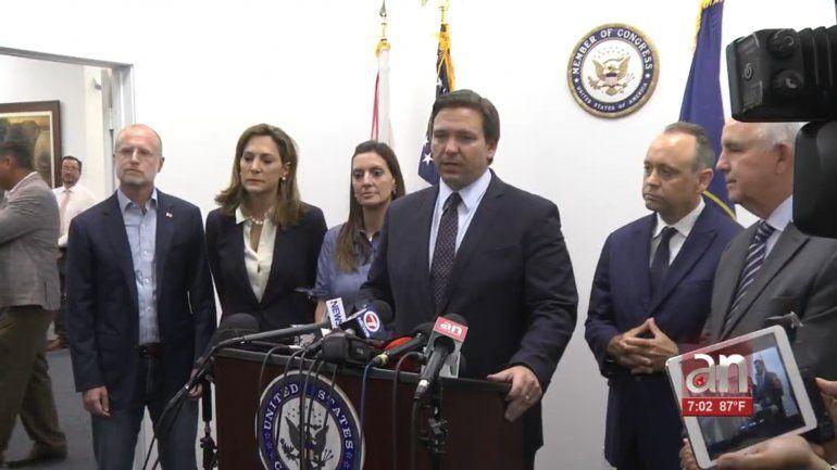Ron DeSantis pide a la Casa Blanca ofrecer conexión a Internet a los cubanos durante las protestas