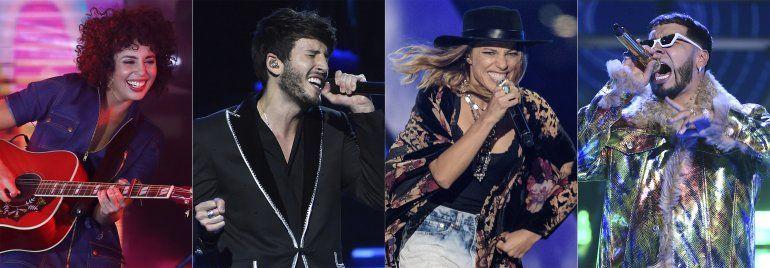 Anuel, Raquel Sofía, Nova y Yatra actuarán en Latin Grammy