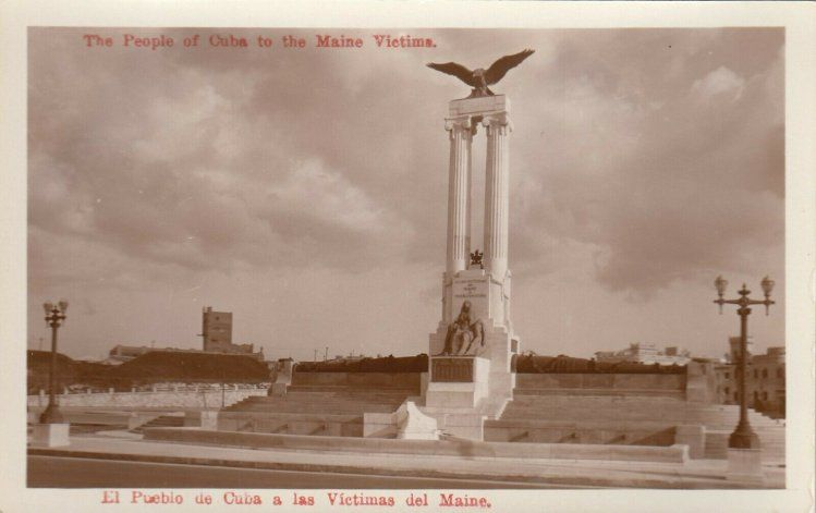 La Cuba del Recuerdo / El parque El Maine en La Habana