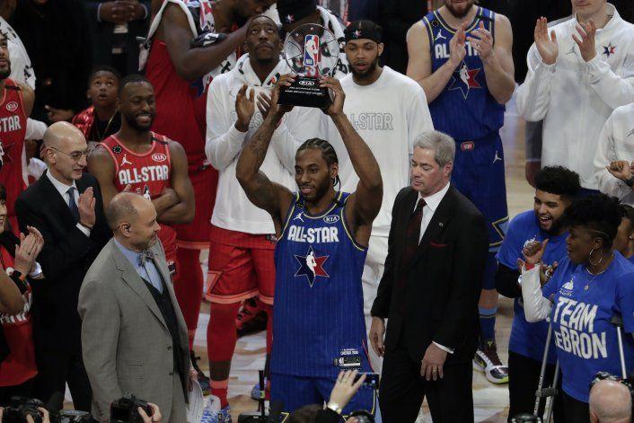 Equipo LeBron gana el juego de Estrellas de la mano de Kawhi