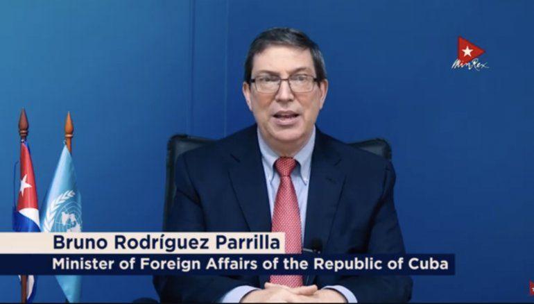 Bruno Rodríguez dice que Cuba demuestra que es posible un modelo alternativo al capitalismo