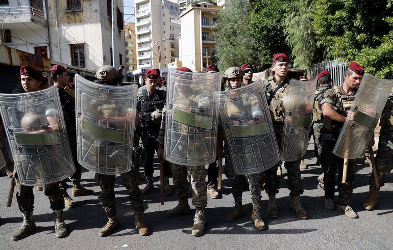 Beirut: violentos choques en protesta por juez que investiga explosión deja al menos seis muertos