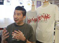 artistas en tokio protestan contra los juegos olimpicos