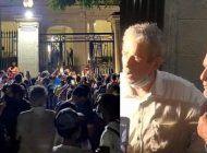 continua la protesta frente al ministerio de cultura; perugorria y fernando perez presentes; posible reunion con fernando rojas