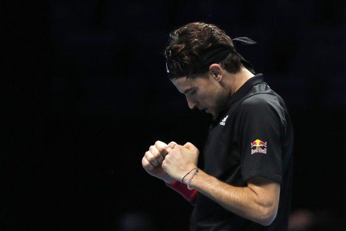 Thiem-Medvedev, final inesperada de Copa Masters