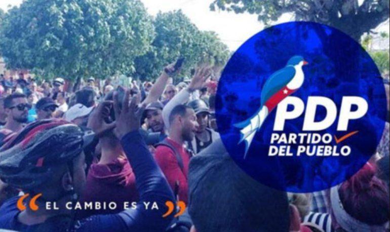 Partido del Pueblo convoca a protesta contra tarifas eléctricas