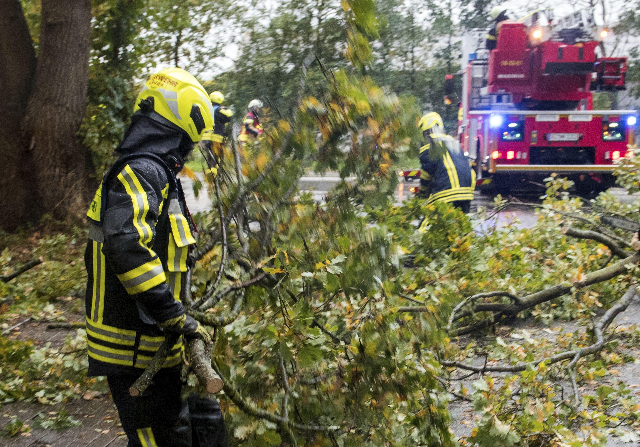Vendavales causan daños y complicaciones en oeste de Europa