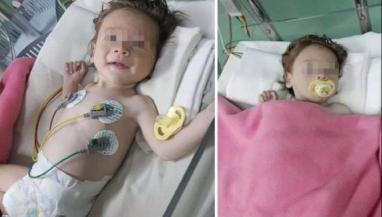 Doctores del Pediátrico de Camagüey piden ayuda para bebé abandonado