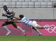 argentina cae ante fiyi en semis de rugby seven
