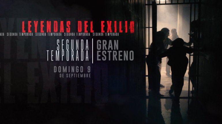 América TeVé presenta  HOY la segunda temporada de Leyendas del Exilio, un éxito sin precedente que ha llevado al mundo la verdadera historia del exilio cubano