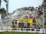 ya se reportan 99 desaparecidos en el colapso parcial de edificio de condominios en surfside